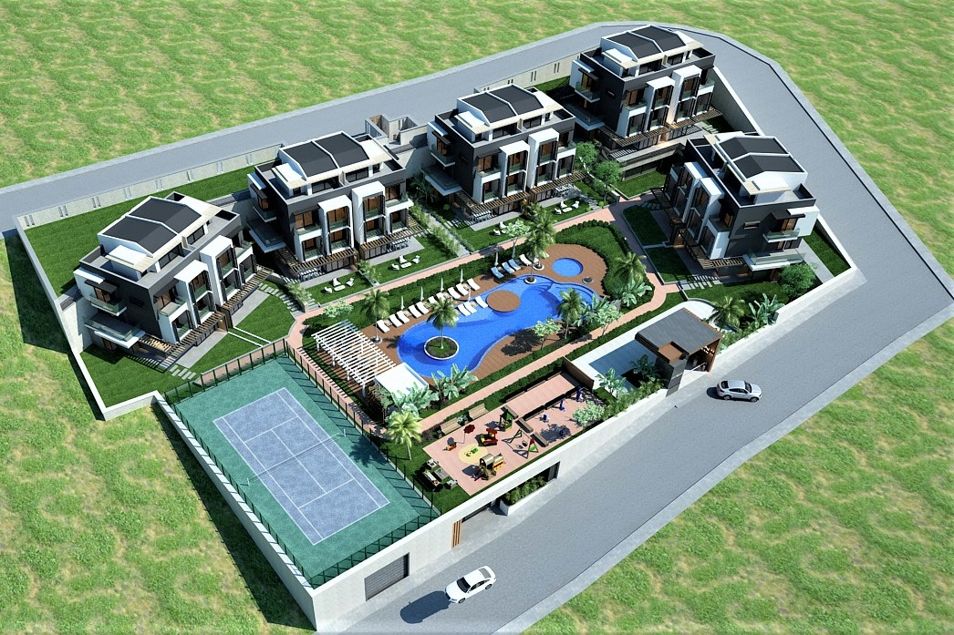 0ff Plan 2 & 3 Bedroom Duplex Apartments in an Exlusive Complex  For Sale