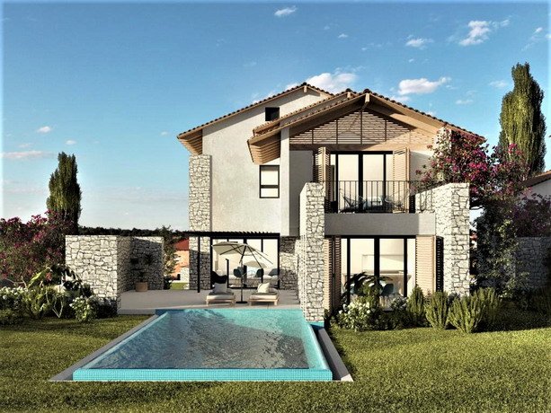 Fabulous  Detached  4 Bedroom Villas with Private  Pool in Ovacik For Sale