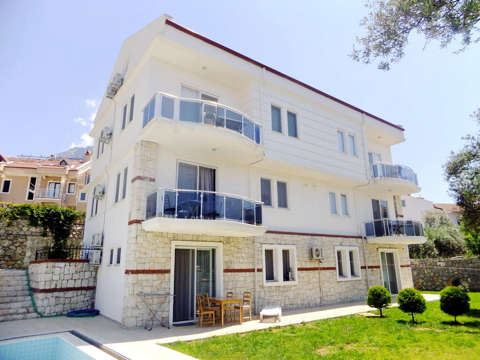 Fully Furnished 3 Bedroom Duplex Apartment in Ovacik Fethiye
