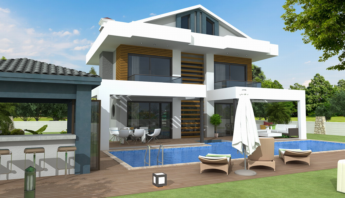 Stunning Detached Villas with Private Pool & Garden