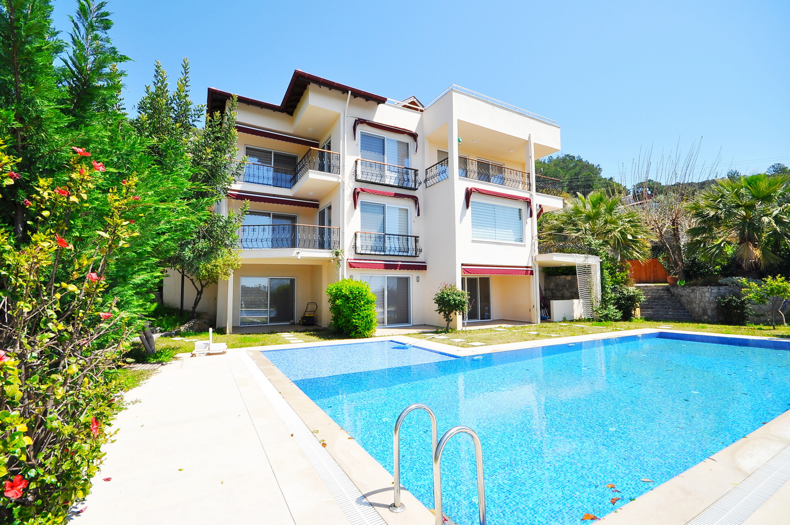 Magnificent Villa for Sale Surrounded by Forest in Gocek