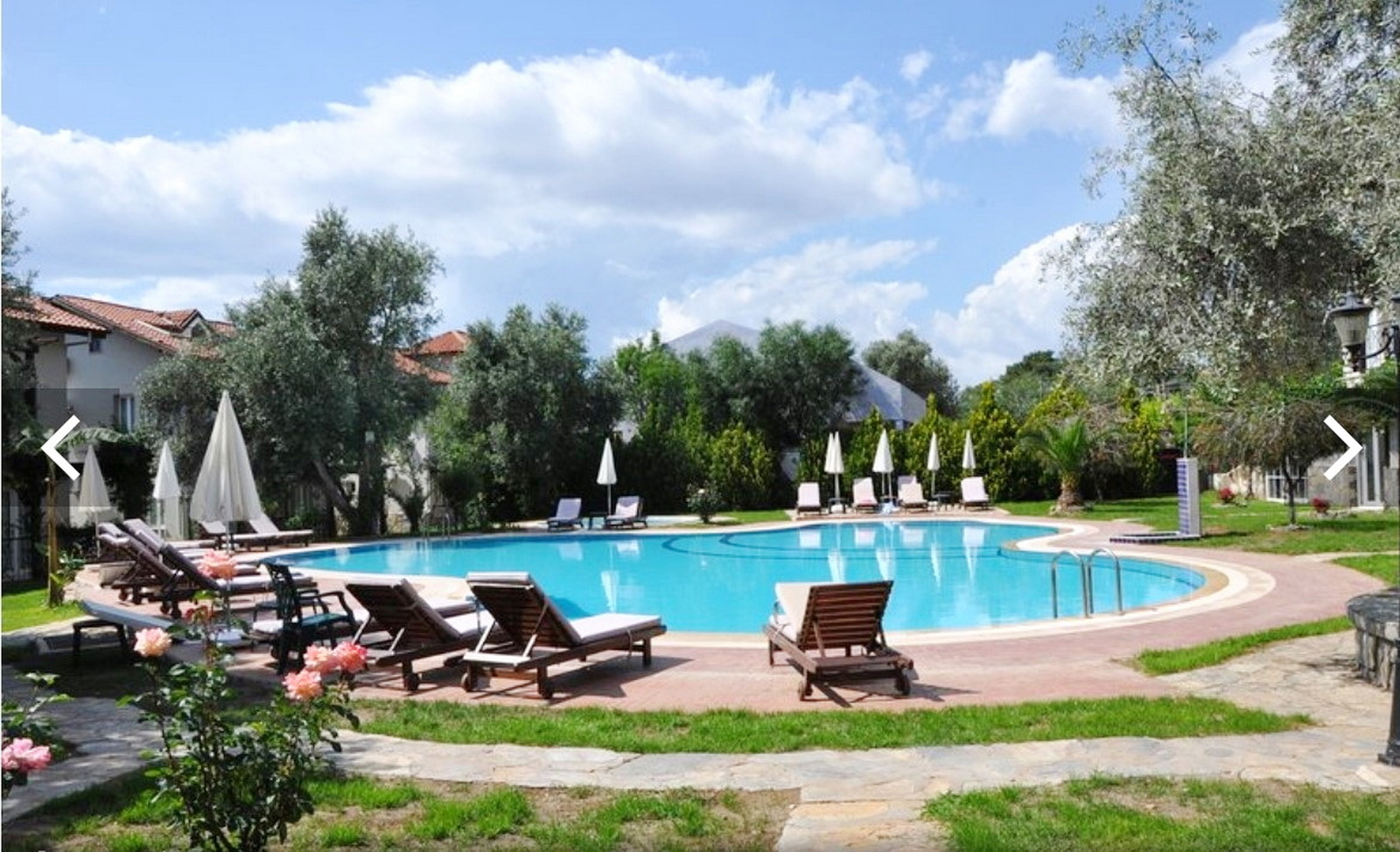 Fully Furnished 2 Bedroom Great Holiday Apartment for Sale in Ovacik