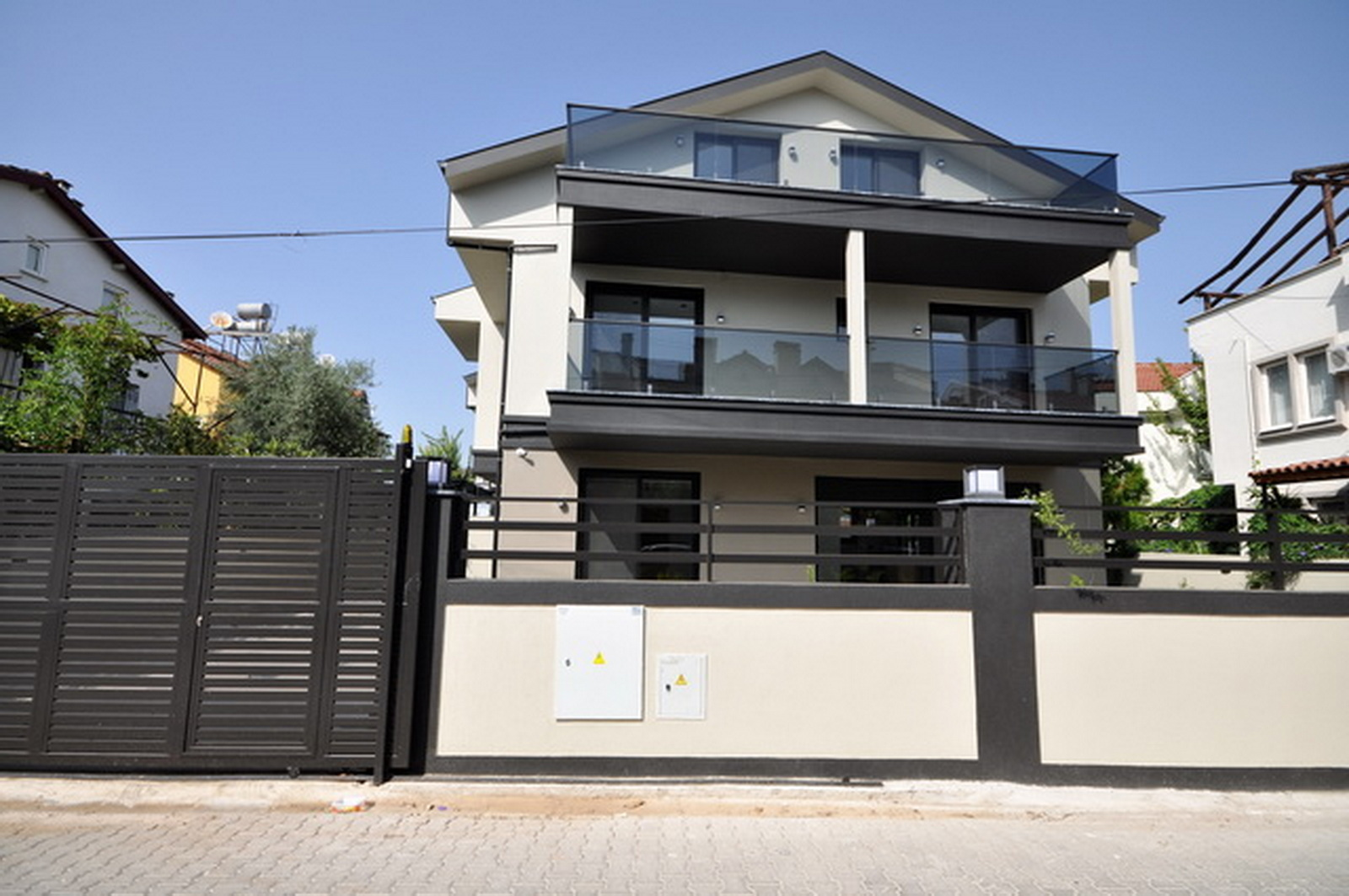 Brand New 5 Bedroom Triplex Smart Villa with Private Pool For Sale in Fethiye