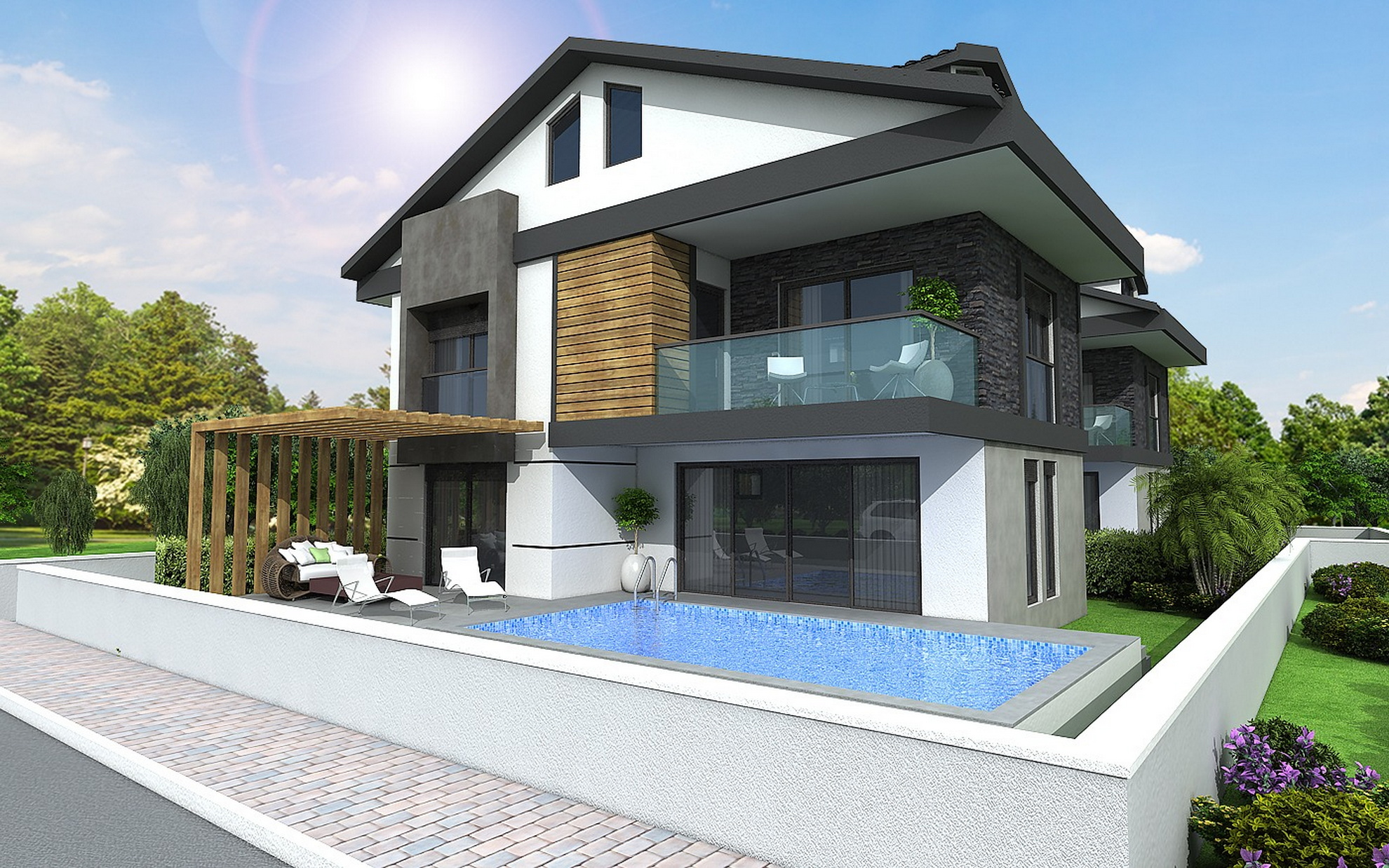 2 Sumptious Brand New Off Plan 4 Bedroom Villas
