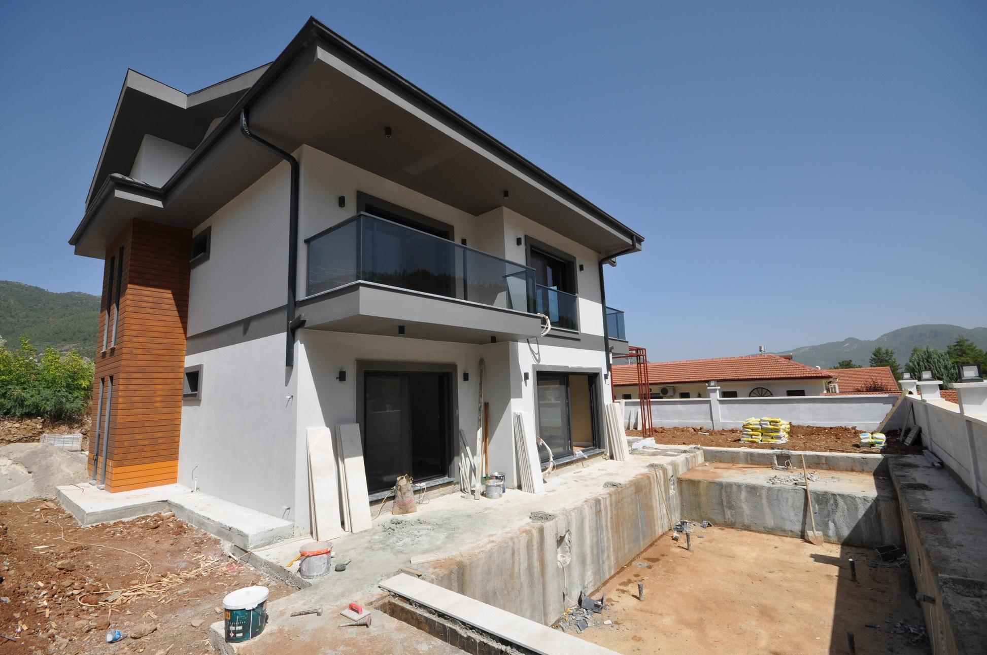Brand New 4 Bedroom Villa with Private Pool & Garden in Incirkoy
