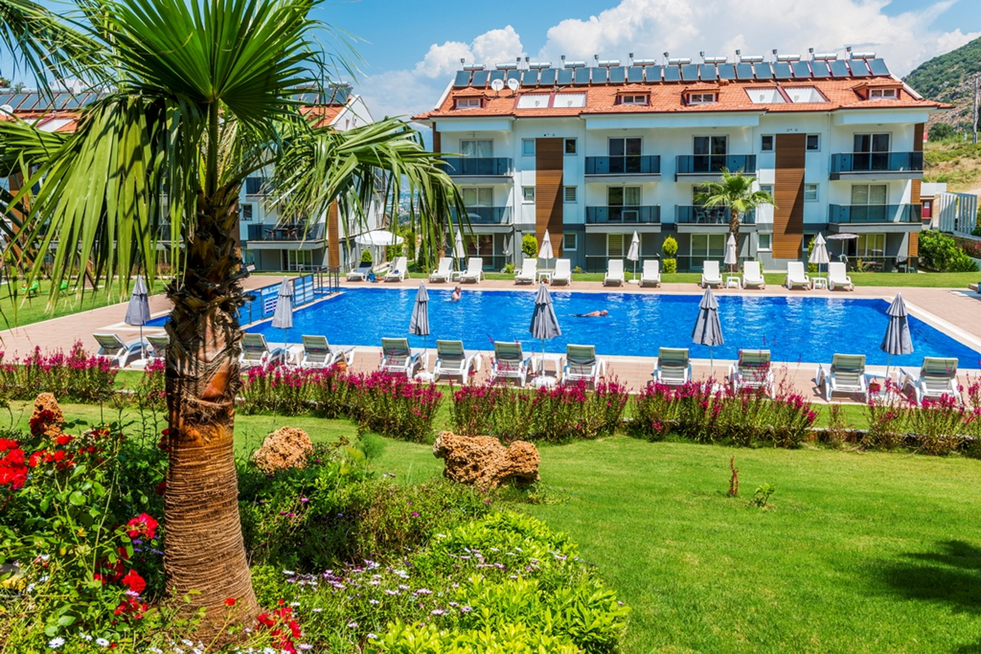 Luxury 3 Bedroom Apartment in a Beautiful Complex with Shared Pool