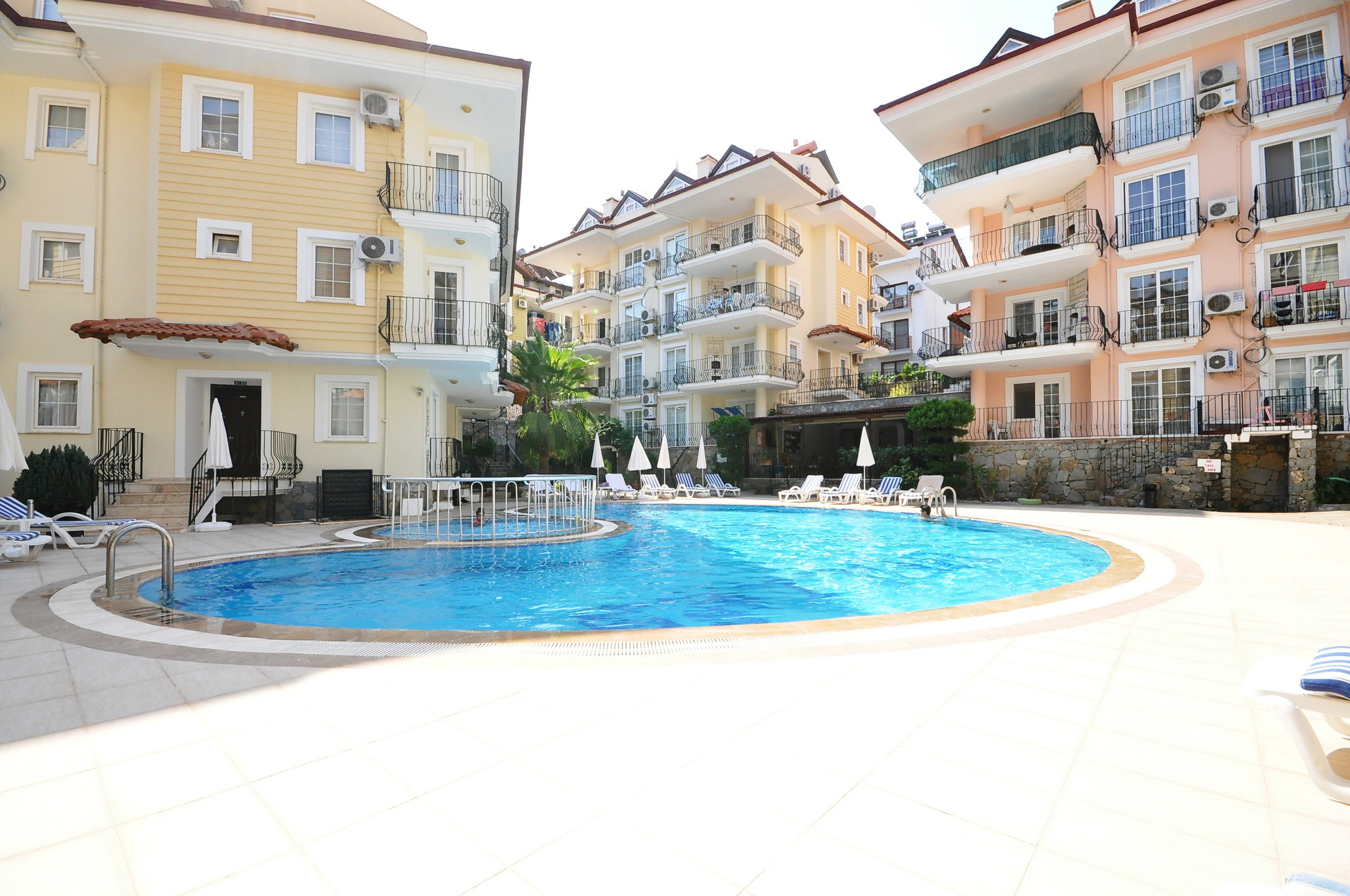 Lovely 2 Bedroom Apartment with Large Communal Pool located in Deliktas
