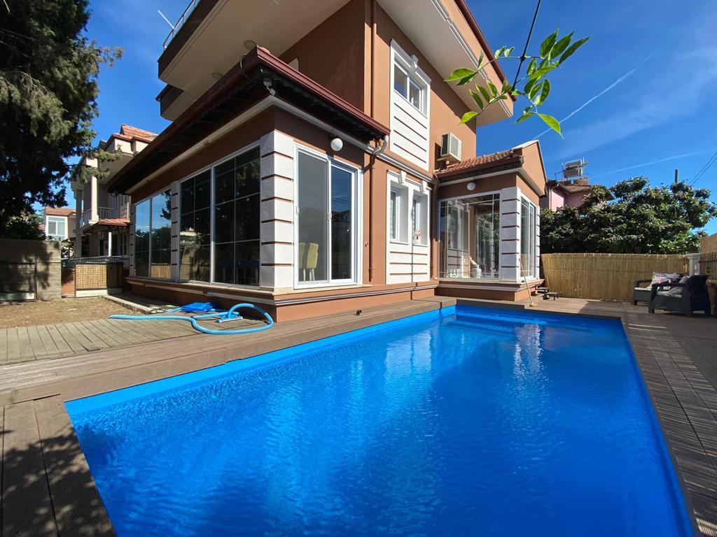 Delightful Corner Plot Resale Detached Villa with Private Pool in Fethiye