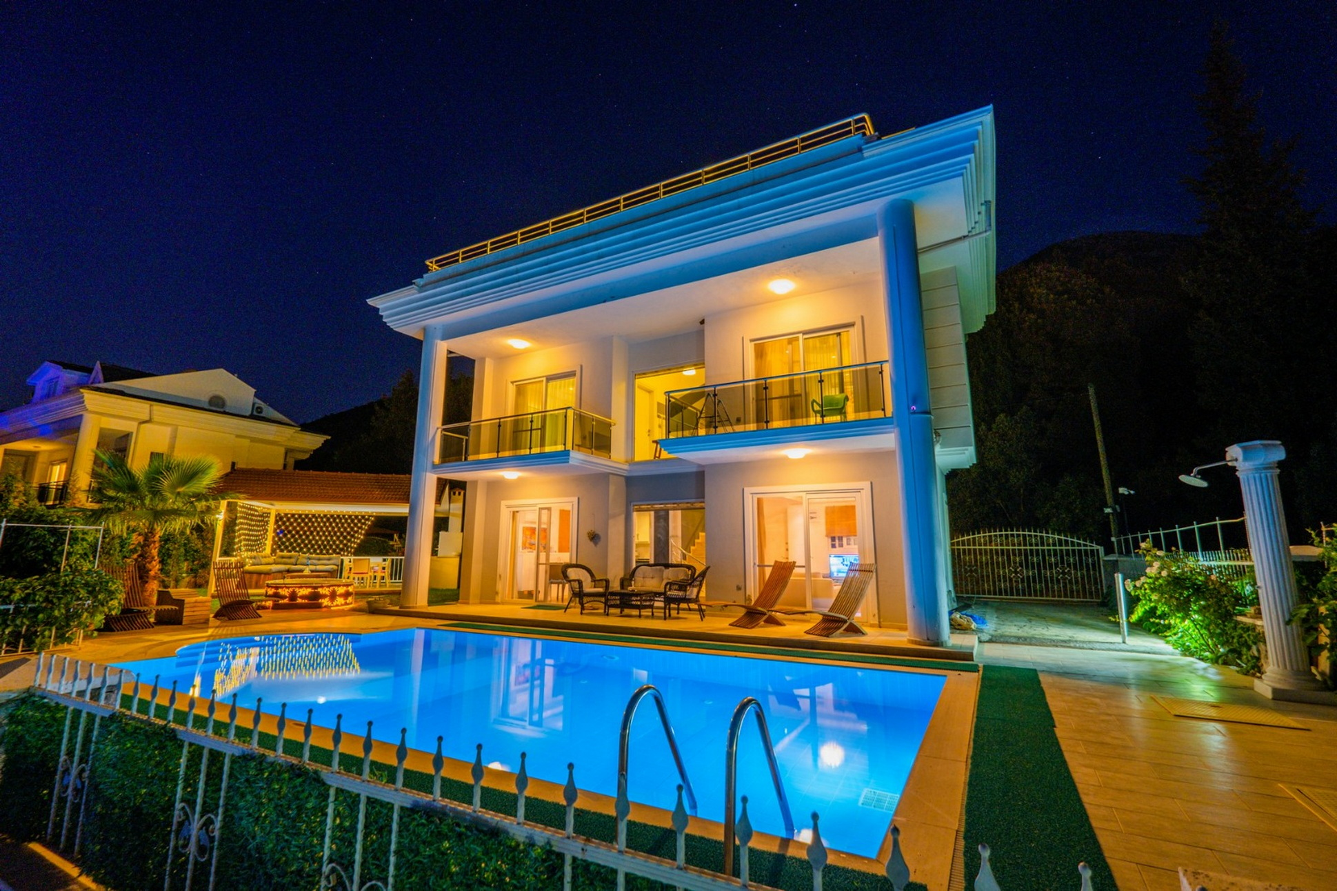 Beautiful Fully Furnished 4 Bed Detached Villa in Ovacik