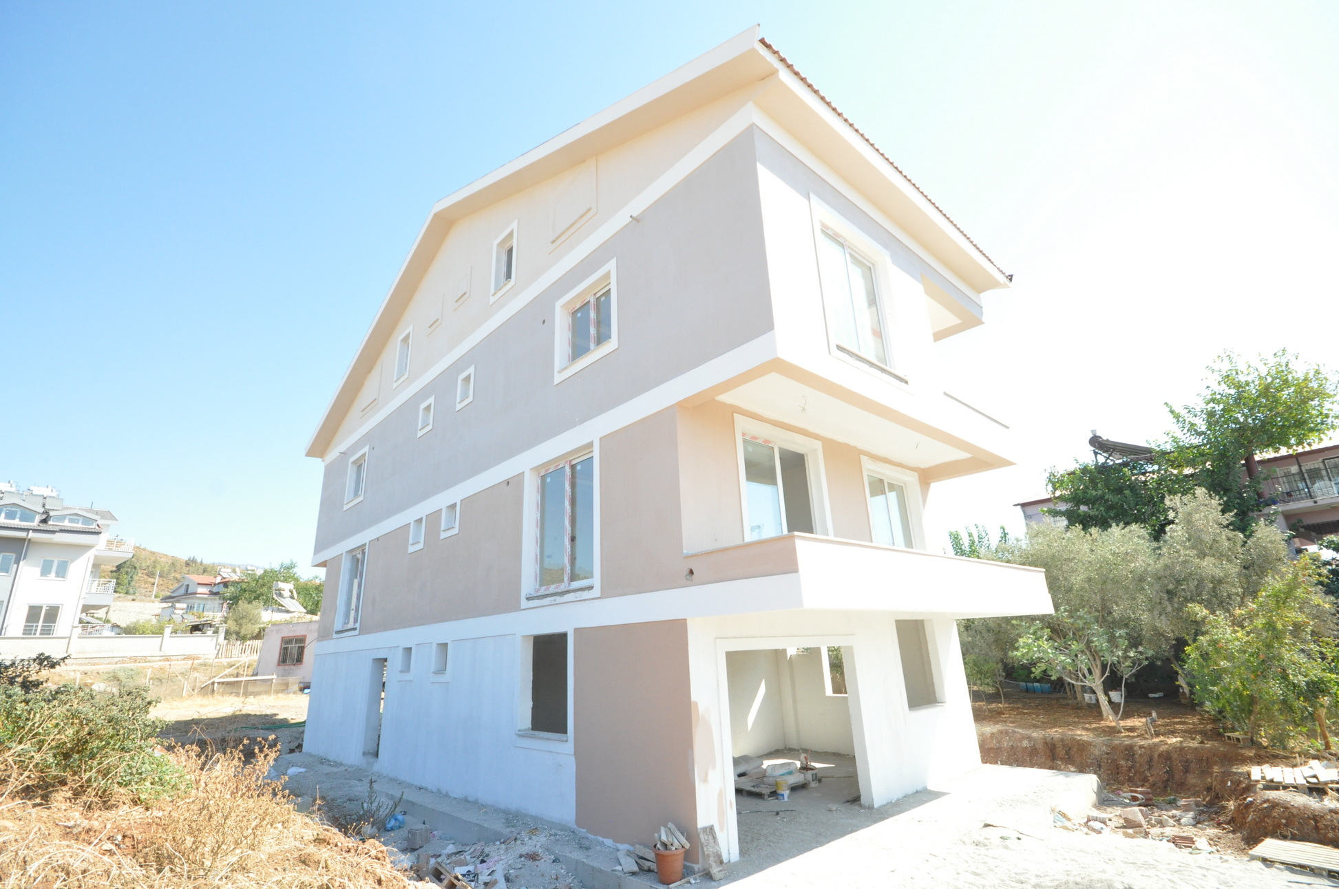 Brand New 3 Bed Duplex Apartments for Sale in Quiet Area of Fethiye