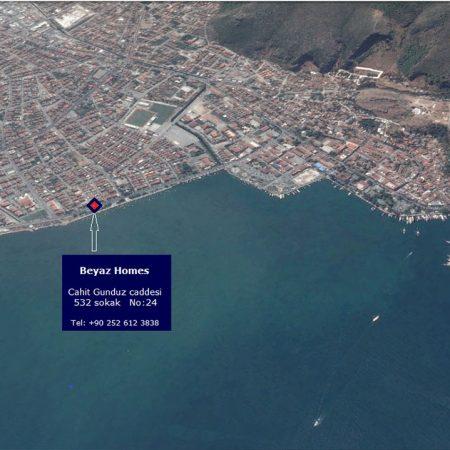 Beyaz-Homes-Fethiye-Turkey-Office-Map